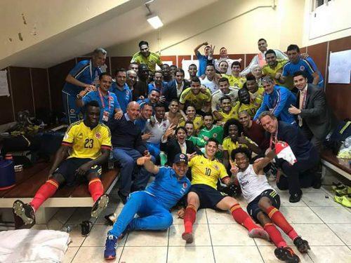 Selección Colombia directo a Rusia2018