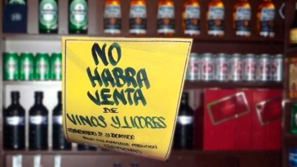 Habrá ley seca este fin de semana enColombia