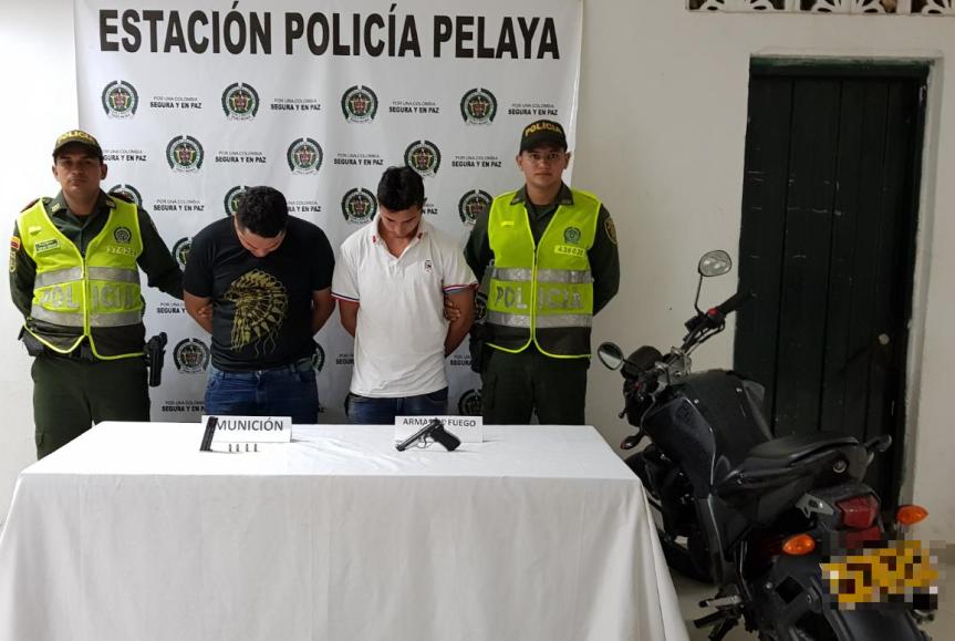 Aprehendidos presuntos autores de hurto a estación de servicio enPelaya