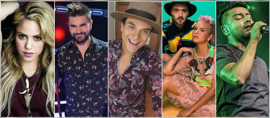 Artistas colombianos nominados al GrammyAmericano