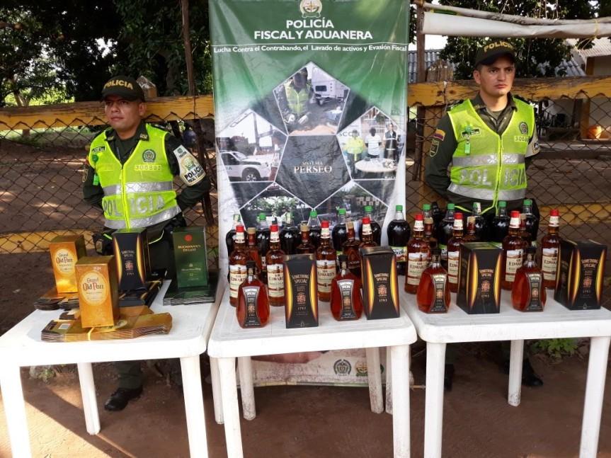 La Polfa confisca mercancía ilegal procedente de laGuajira