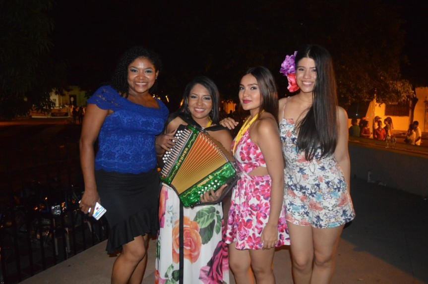 Ganadoras del Encuentro Vallenato Femenino Evafe2017