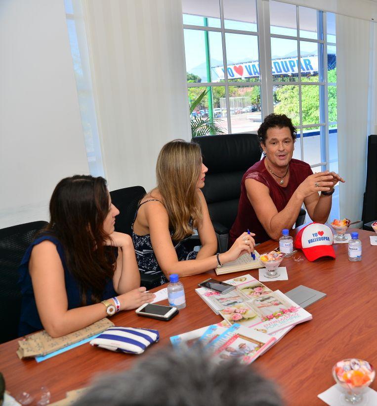 Carlos Vives apoyará proyectos de alto impacto social enValledupar