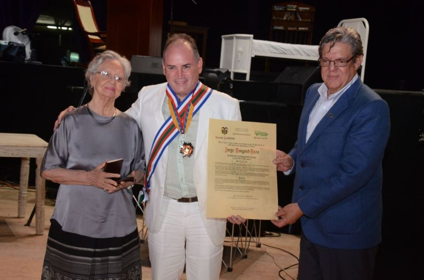 En celebración de bodas de oro del Cesar, Gobernador Ovalle destacó la pujanza de esteterritorio