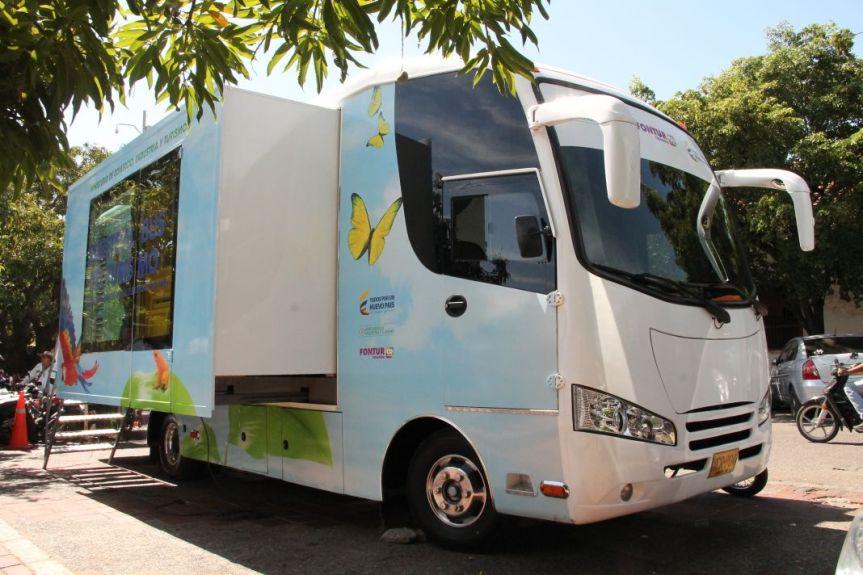 Bus del Turismo para fortalecer al Cesar como destinoturístico