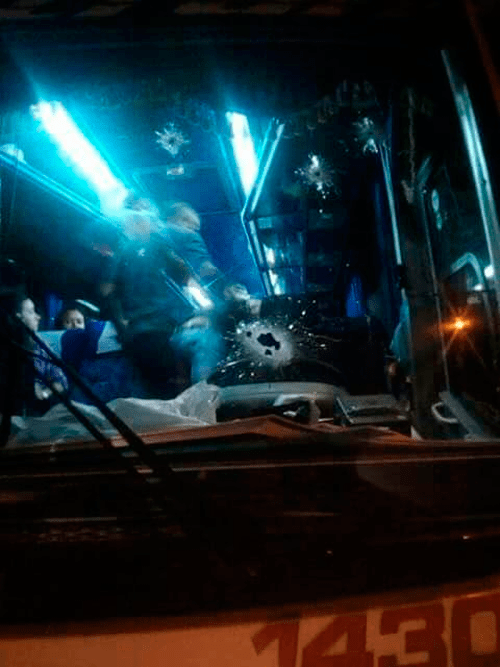 Policia Nacional frustró un atraco a un bus que viajaba aValledupar