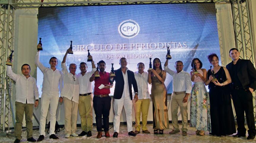 El Circulo de periodistas de Valledupar entregó los premios SirenaVallenata