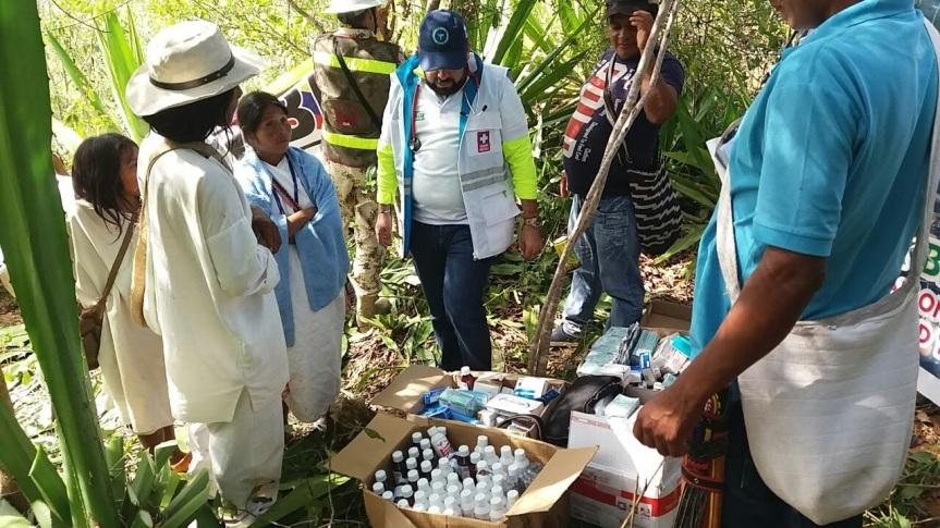 Secretaría de Salud Departamental promueve atención articulada en zonas indígenas de difícilacceso