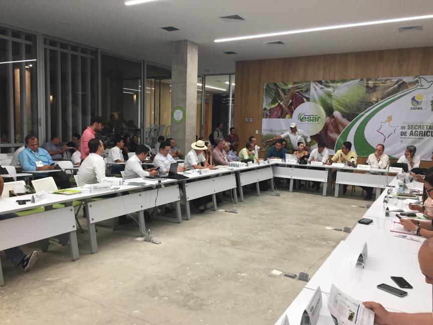 Cinco temas quedaron definidos en agenda del CONSAcon elMinagricultura