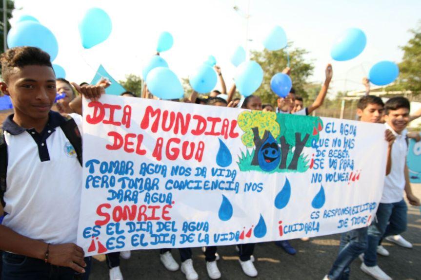 Estudiantes del Cesar marcharán este jueves 22 de marzoen defensa delagua