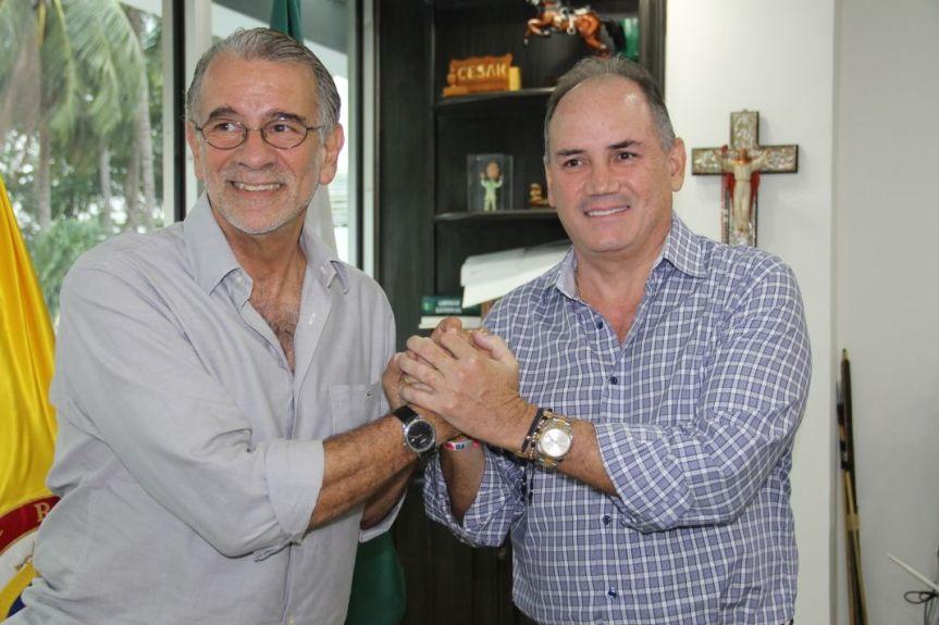 gobernador Ovalle y gobernador Verano -Atlántico