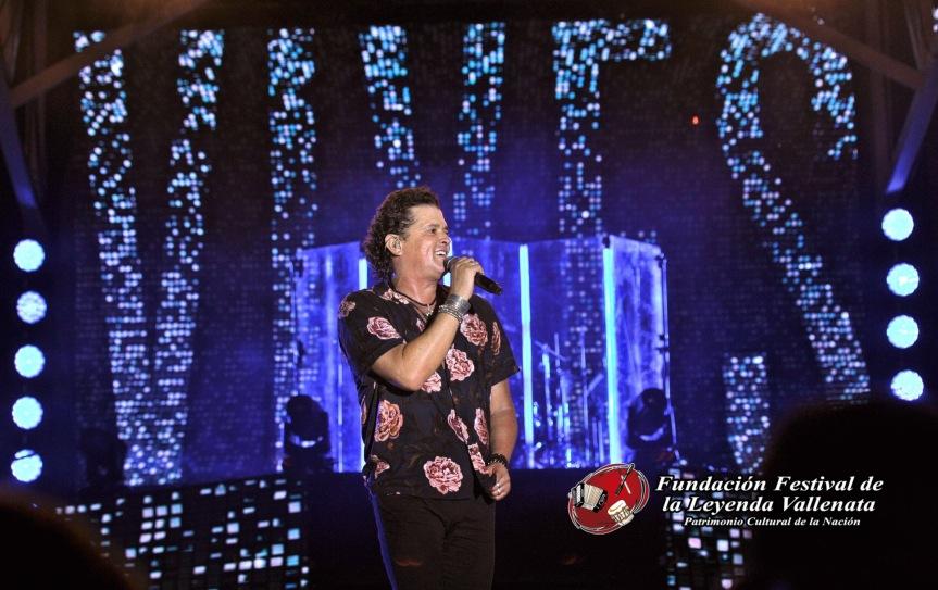 En el Festival Vallenato Carlos Vives sesobró