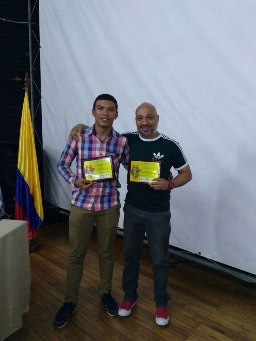 Destacado director y destacadoactor, reconocimientos quese trajo la UPC de Encuentro Nacional Universitario deTeatro