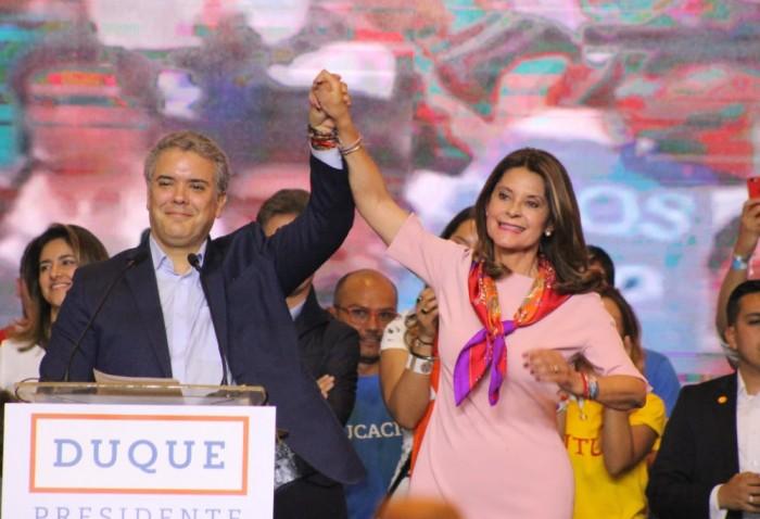 Duque con 39.14% y Petro con 25.09% pasan a segunda vueltapresidencial