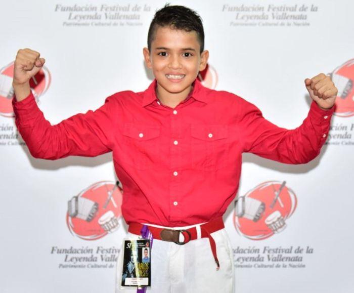 Julio Andrés Gil Barros - Rey Piqueria Infantil