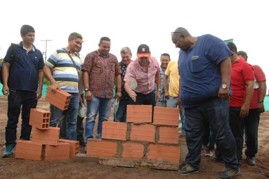 Inicia la construcción del 1er Centro de Integración Ciudadana para la Paz enCodazzi