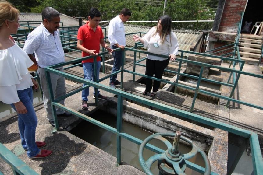 Inspección, vigilancia y controlen planta de tratamiento de agua potable en Pueblo Bello por virus de la hepatitisA