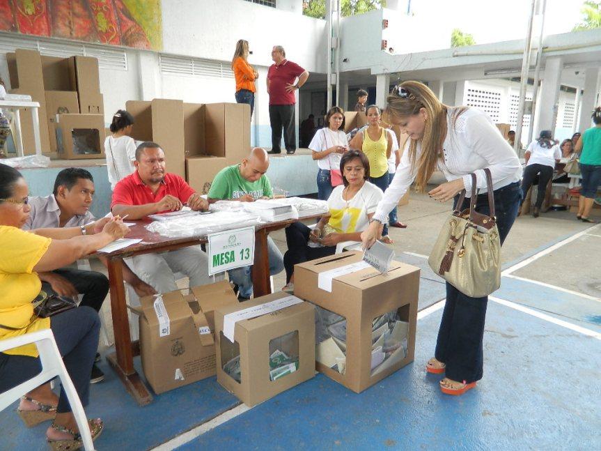 Normas para la conservación del orden público durante jornada electoral