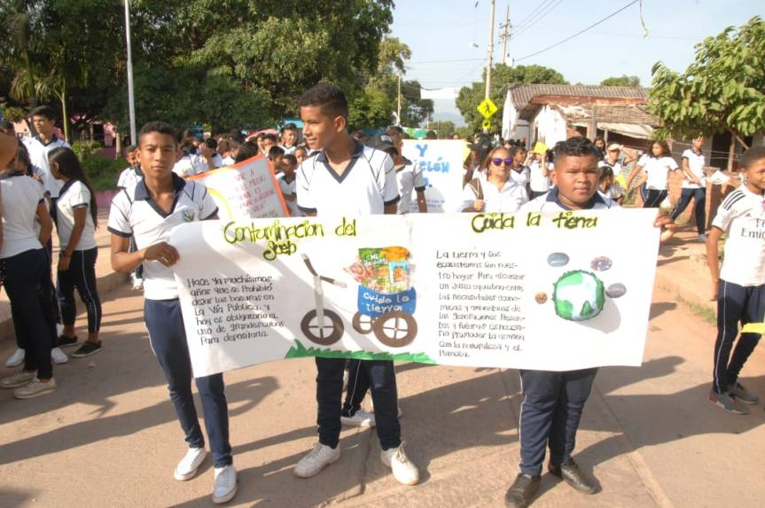 Con actividades lúdicas y culturales Gobierno Departamental celebró Día Mundial de MedioAmbiente