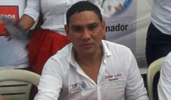 Didier Lobo senador electo