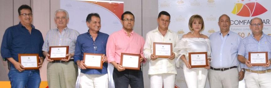 Comfacesar otorgó reconocimientos a sus proveedores de mayortrayectoria
