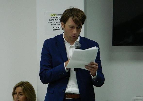 Francis Van- Secretario de Asuntos Políticos Embajada de Países Bajos