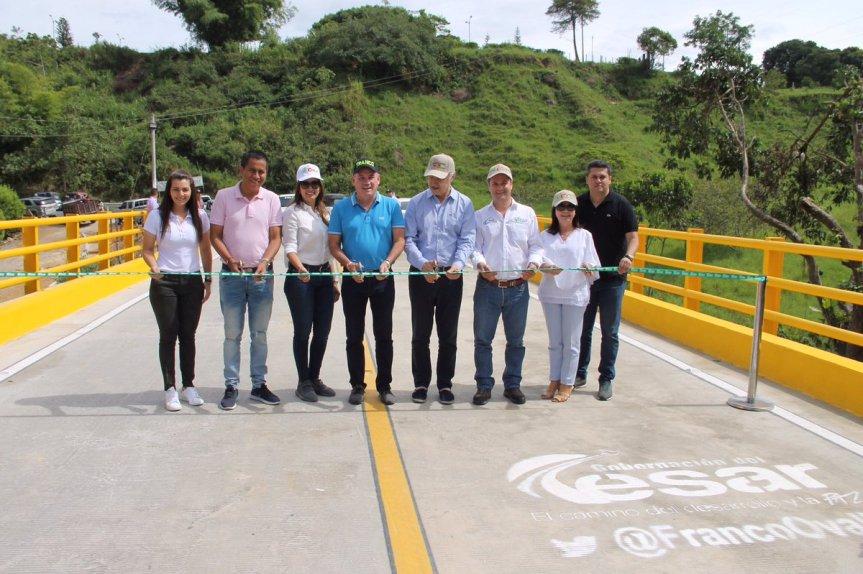 Gobernador Ovalle inauguró los 7.5 kilómetros restantes de la vía Zanjón-PuebloBello