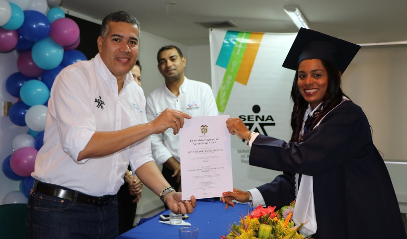Sena certificó a 30 guías de tránsito de Valledupar como técnicos en seguridadvial