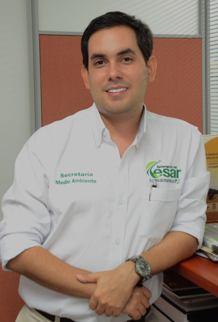 Secretario de Medio Ambiente alcalde encargado deChiriguaná
