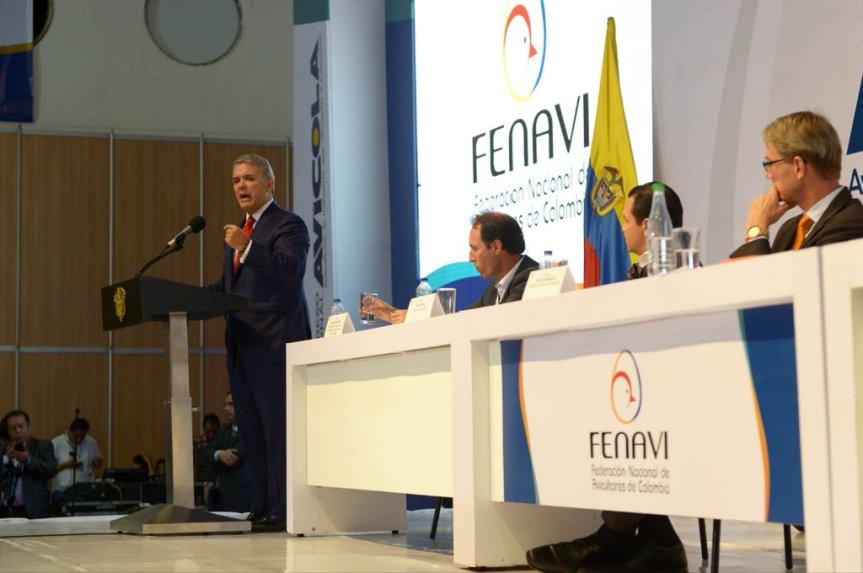 Presidente Duque invitó a los colombianos a poner a crecer con vigor laeconomía