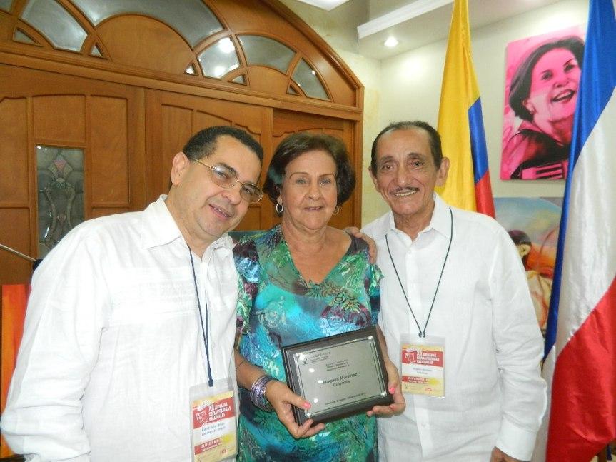 Doctor Rafael Valle Hugues Martinez y Katia Montero
