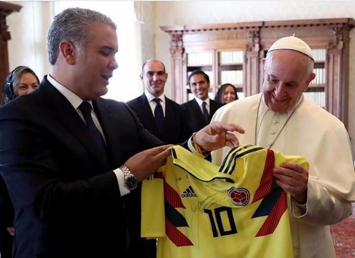 El mensaje del Papa Francisco al Presidente Duque: persistir en la unidad de loscolombianos