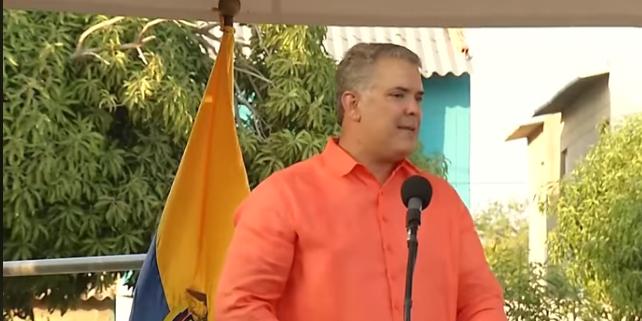 Queremos que Valledupar sea la capital naranja del Caribe colombiano: PresidenteDuque