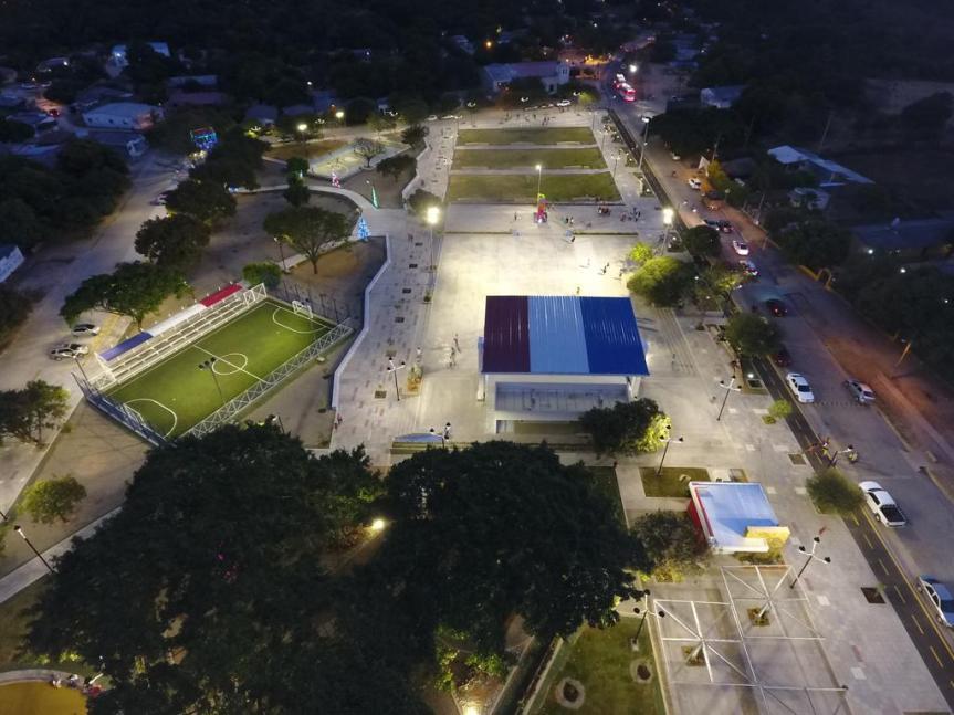 plaza de patillal- dron