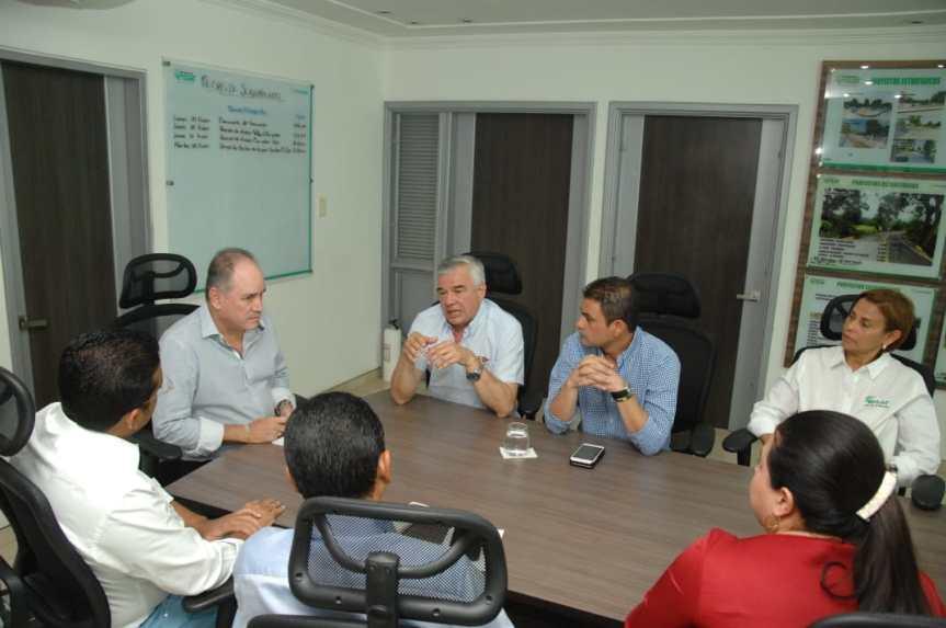 Secretario General del Comité Olímpico Colombiano visitó escenarios deportivos en elCesar