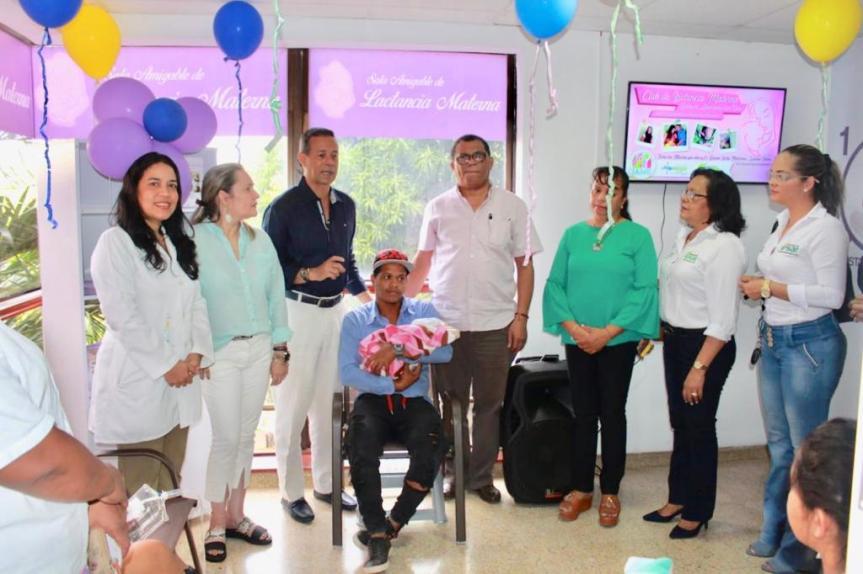 Nueva Sala Amigable de Lactancia Materna en el Hospital Rosario Pumarejo deLópez