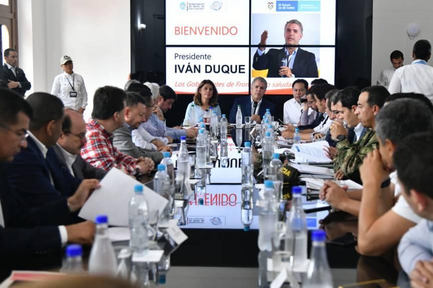 Plan de Impacto para mitigar crisis migratoria en departamentosfronterizos
