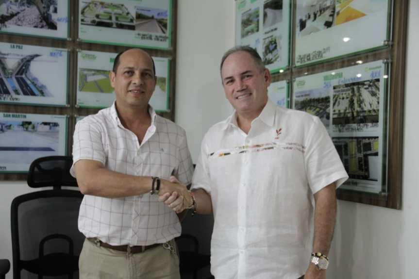De una terna entregada por el Partido Cambio Radical, Gobernador del Cesar designó alcalde encargado para el municipio AgustínCodazzi