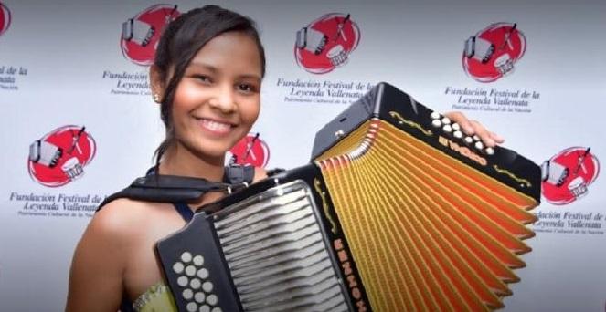 Primera Reina en la categoría acordeonera menor y nuevo Rey Aficionado en Festival Vallenato52