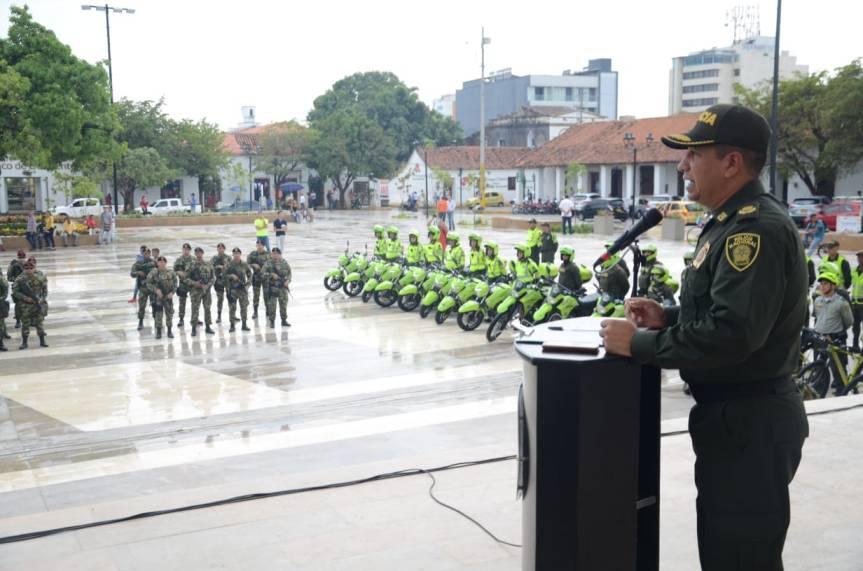 Más de 1200 policías llegan a Valledupar para reforzar seguridad en el FestivalVallenato