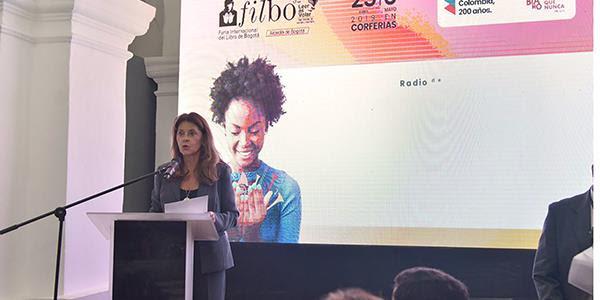 Una invitación a leernos como colombianos hizo la Vicepresidenta en el lanzamiento de la Feria del Libro deBogotá