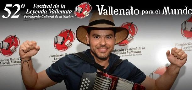 Alfonso Monsalvo Rey Vallenato2019