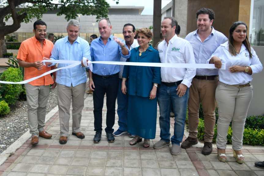 Presidente Duque inauguró Centro de Desarrollo Tecnológico Ganadero Fase3