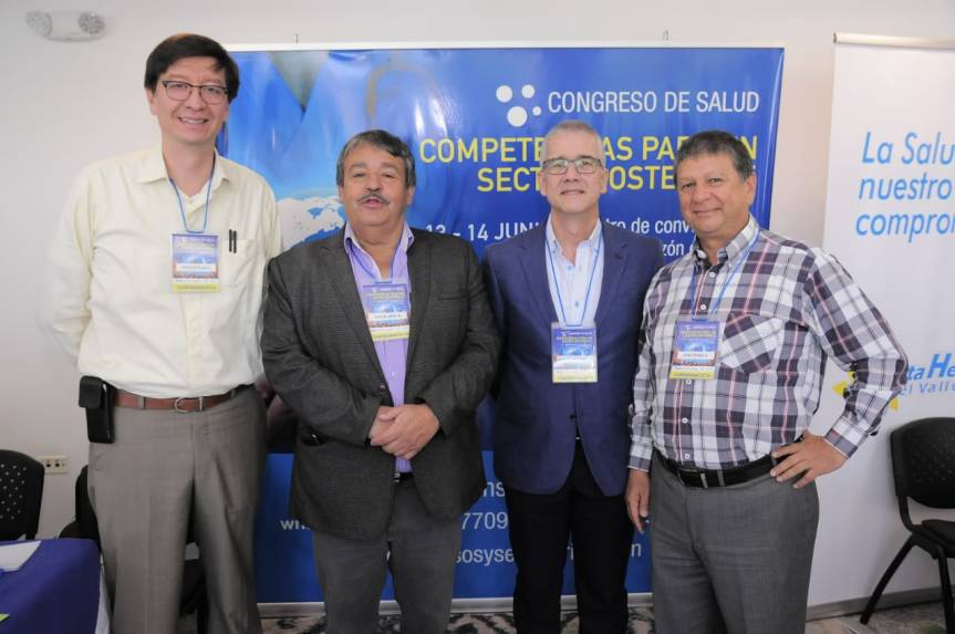 """Congreso de Salud """"Competencias para un sector sostenible"""""""