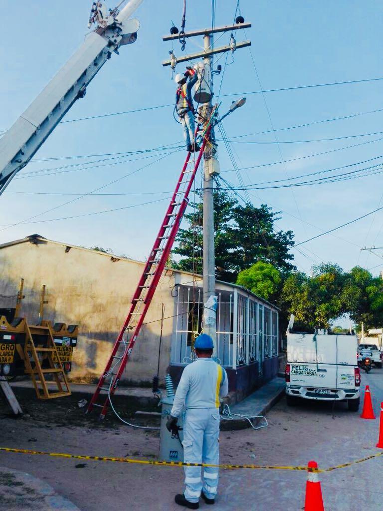 Suspensión del servicio de energía por trabajos de adecuación técnica en El Paso y  cuatro corregimientos deValledupar