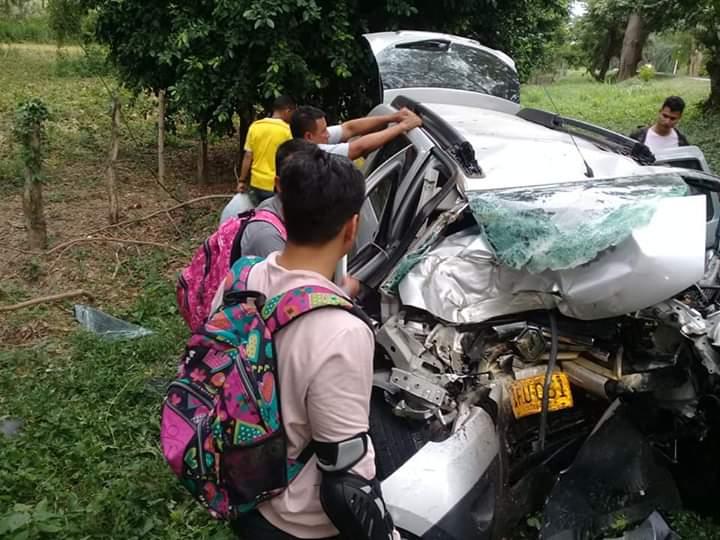 En menos de 24 horas dos accidentes viales segaron la vida de 11personas