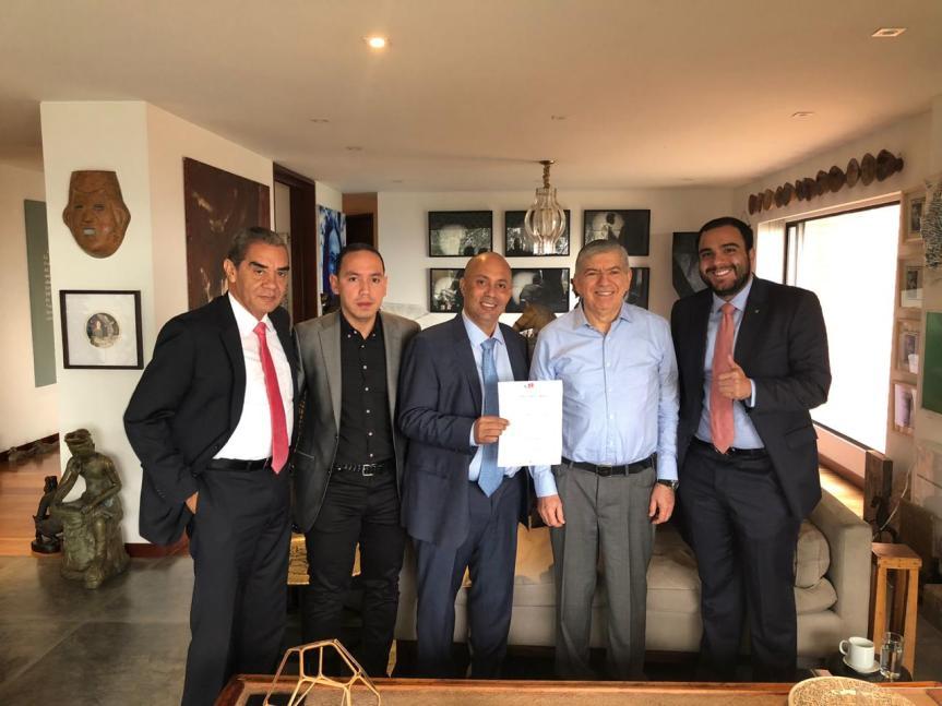 Partido Liberal entregó coaval a Ernesto Orozco para la Alcaldía deValledupar