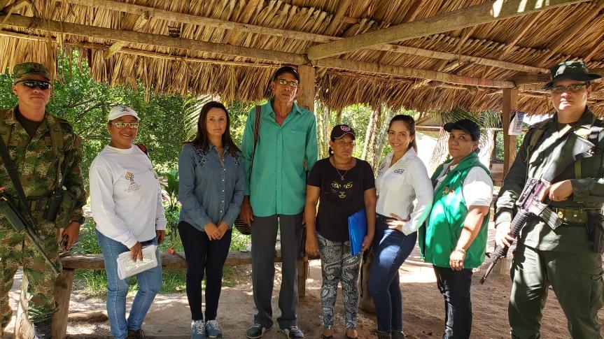 Víctimas de abandono forzado por la presión paramilitar, en el norte del Cesar, recuperaron el predio ElEdén