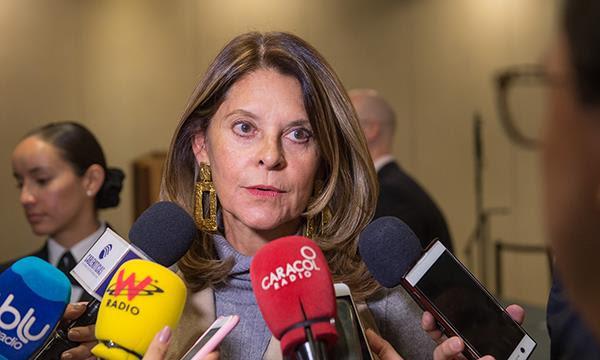 Vicepresidenta de la República, Marta Lucía Ramírez, pide prisión perpetua para violadores deniños