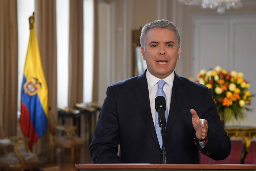Declaración del Presidente Iván Duque sobre el video de alias 'IvánMárquez'